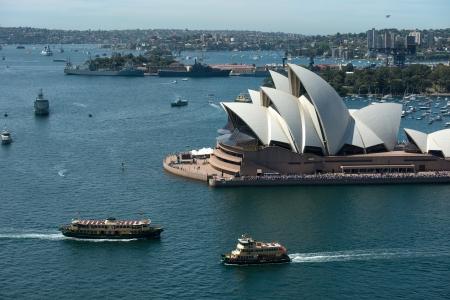 Opera house is the landmark of Sydney
