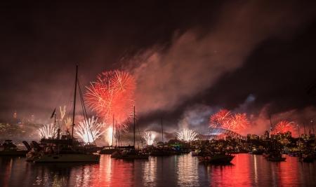 Show de fogos de artif