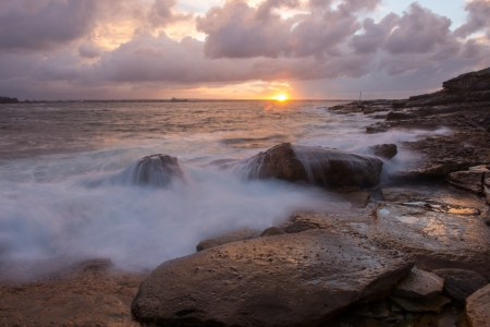 Beautiful seascape Sydney, Australia  Stock Photo