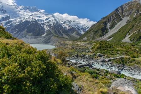 Beautiful landscape south island, New Zealand photo