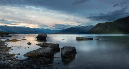 Landscape of New Zealand  photo