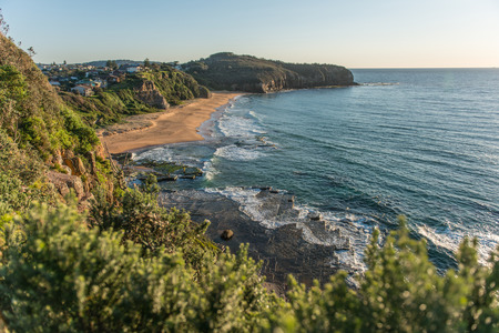 Sunrise from Sydney sea   photo