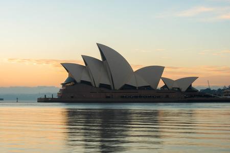 Sunrise from Opera house, Sydney  Australia