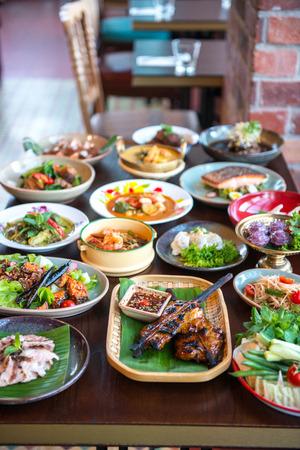 Thai foods. photo