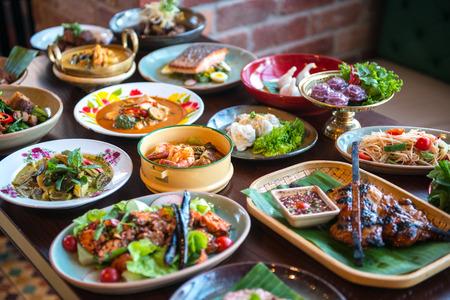 Thai foods. Stockfoto