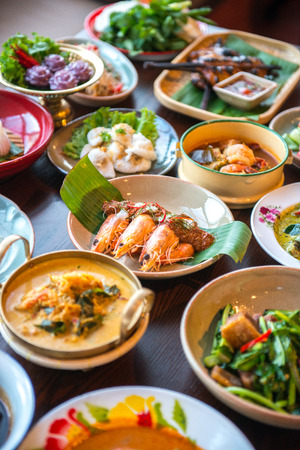Thai foods. Stock Photo