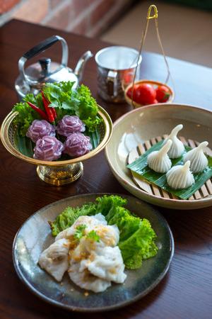 Thai traditional dessert.