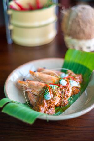 Red curry prawm