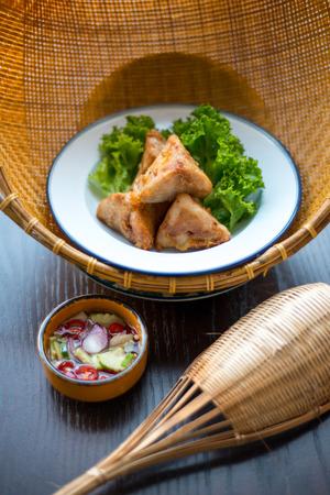 entree: Thai foods entree. Stock Photo