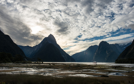 milford: Milford sound in New Zealand.