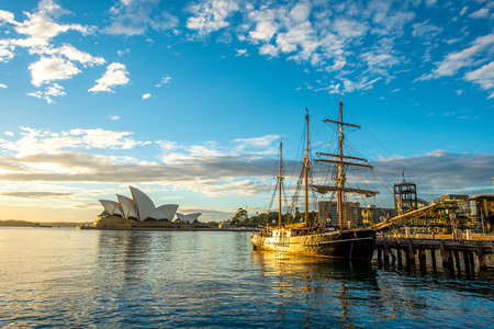 sydney: Opera house, Sydney. Stock Photo