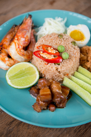 paste: Shrimp paste fried rice