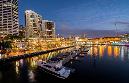 darling: Darling harbor in Sydney Editorial