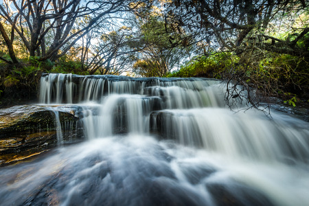 WATERFALLS IN Blue Mountains national park