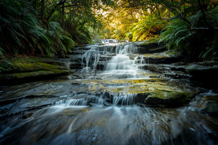 Waterfalls in Blue Mountains national park Australia