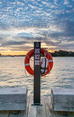 Life ring in Sydney