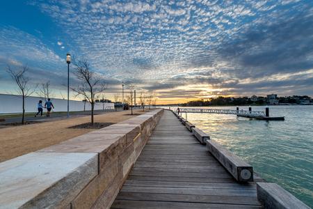 sydney australia: Barangaroo reserve Sydney Australia Stock Photo