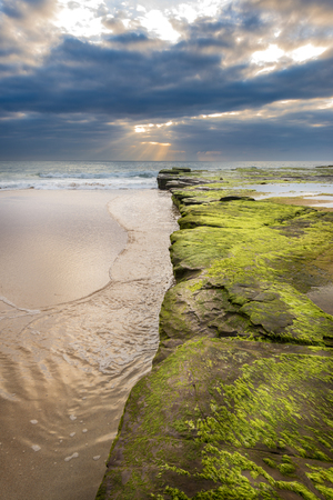 head stones: Turimetta beach in Sydney