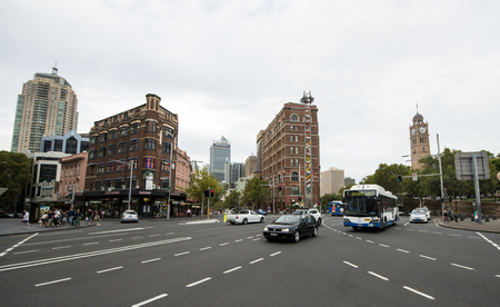 Junction in Sydney city 新闻类图片