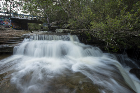 nsw: Small waterfalls in NSW