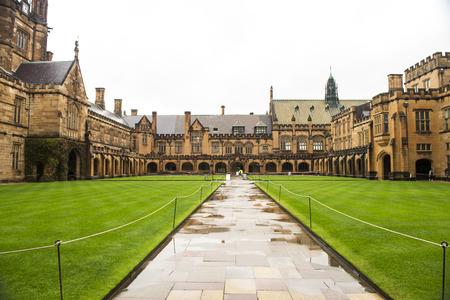 Universidade de Sydney Foto de archivo