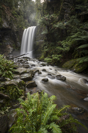 Hopetoun falls in Victoria, Australia Stock Photo