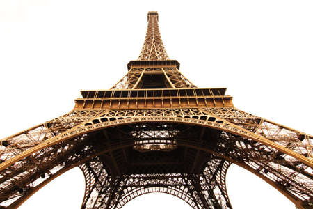Eifel Tower in isolated Stock Photo - 6712431