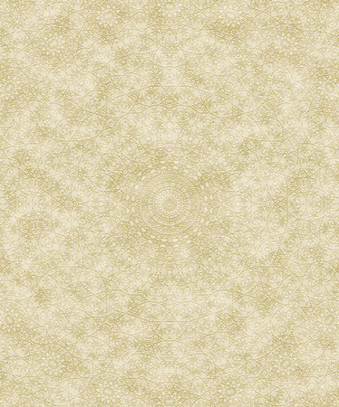 embossed paper: Seamless embossed paper or parchment background texture with vintage ornament