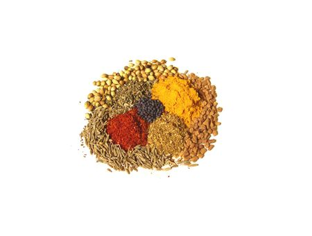 Bright and Colorful Varity of Indian Spices