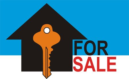 House for Sale with Key to the House