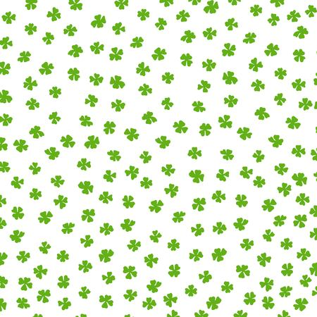 Clover leaf Irish colored background. Ilustração