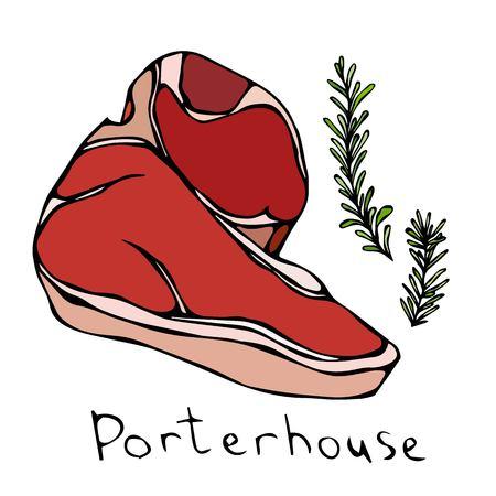 porterhouse: Porterhouse Steak Cut