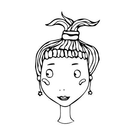 147 Girl Blushing Stock Vector Illustration And Royalty Free Girl