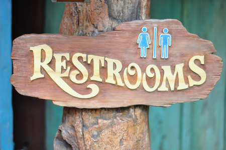 Male and Female Restroom