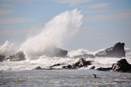 Exploding wave