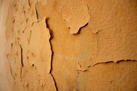 crumbling: A crumbling wall