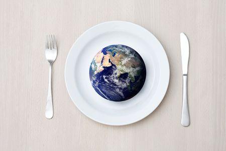 hambriento: Hambre en el mundo Foto de archivo