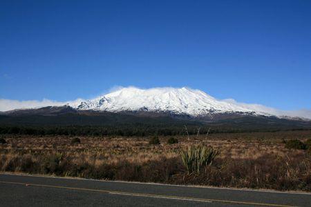 tongariro: Parque Nacional de Tongariro en Nueva Zelanda Foto de archivo