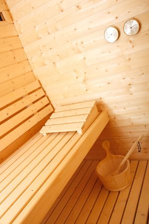 A beautiful sauna photo