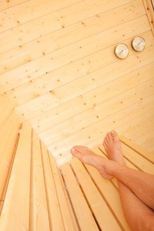 A beautiful sauna photo