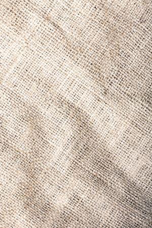 burlap bag: A coffee bag texture