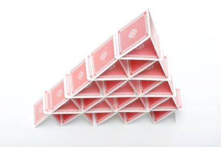 A house of playing cards Stock Photo - 5367010
