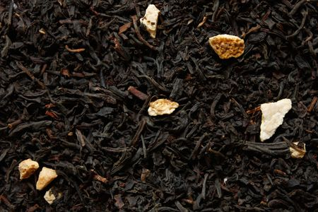 zoomed in: Quinche tea zoomed in on Stock Photo