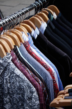 Clothing rack Stock Photo - 6941254