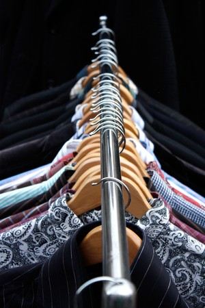 Clothing rack Stock Photo - 6941246