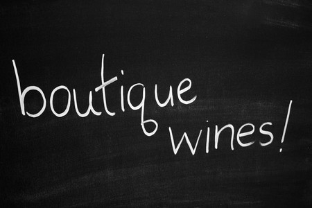 wines: Botique wines Stock Photo