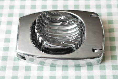 slicer: Egg slicer Stock Photo