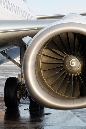 aerospace industry: Jet Stock Photo