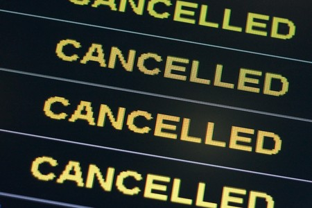 cancelled: Cancelled Stock Photo