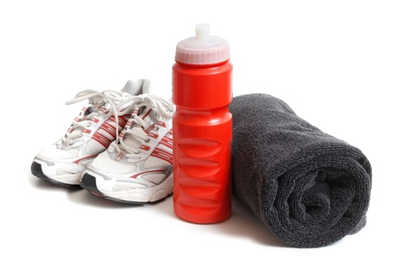 Workout and fitness shoes Stock Photo - 8507577